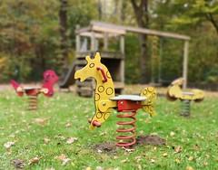 Federndes Giraffenpferd (maramillo) Tags: maramillo springrider playground giardinetto wipkip yellow wood red cyunanimous yourock unanimous