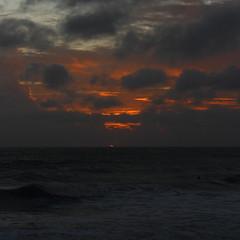 SUNRISE (R. D. SMITH) Tags: sunrise atlanticocean canoneos7d dawn water ocean morning squareformat