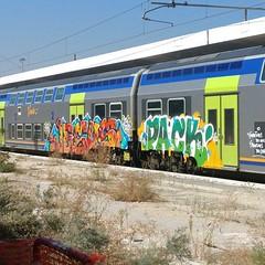 #stolenstuff #graffitiblog #check4stolen #flickr4stolen #jesus #pack #vivalto #graffiti #graffititrain #benching #instagraff #trainbombing (stolenstuff) Tags: instagram stolenstuff graffiti graffititrain benching