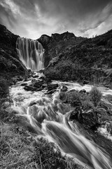 Clashnessie Falls (kenimcg107341) Tags: scotland highlands assynt clashnessie waterfall moody stormy sky river nikon d750 fifth second 1635