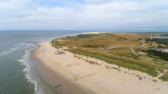 Luftbild Strand von Ameland