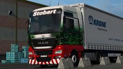 "Eddie Stobart ""Tanja"" - 1707 ([Aditya Prasetyo]) Tags: stobart eddiestobart man ets2 ets tgx tanja 1707 krone trailer megaliner trucks lkw truk truck simulator simulation"