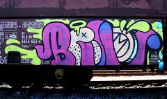 graffiti on freights (wojofoto) Tags: amsterdam nederland netherland holland graffiti streetart freighttraingraffiti freighttrain freights fr8 cargotrain vrachttrein treingraffiti traingraffiti wojofoto wolfgangjosten benoi benoit