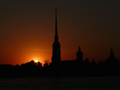 Even Later (Thomas Listl) Tags: thomaslistl color dark red orange church stpetersburg russia sunset evening light shadows silhouette backlight ngc cathedral saintpeterandpaulcathedral