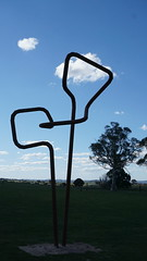 #09 Much like life, up in the clouds (spelio) Tags: actsep2018shawyassvalleynsw canberra australia sep 2018 rural art sculpture murrumbateman