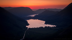 Afterburn (Wizmatt) Tags: warnscale beck head bothy buttermere crummock water lake district british landscape cumbria honister pass mountains valley sunset colours red north west england travel
