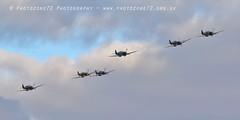 7409 Spitfires (photozone72) Tags: duxford iwmduxford airshows aircraft airshow aviation canon canon7dmk2 canon100400f4556lii 7dmk2 warbirds wwii
