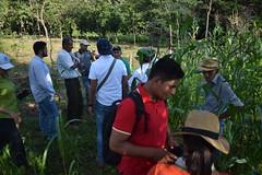 Intercambio de experiencias de productores con actores de Centroamérica y República Dominicana.