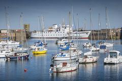 Scillonian III in Penzance Harbour, Cornwall (DM Allan) Tags: scillonian boat ferry islesofscillysteamshipcompany penzance wharfroad cornwall