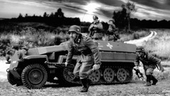 Hanomag Grey (WesternOutlaw) Tags: hanomag wehrmacht 130 130scale toysoldiers kingcountry kingandcountry