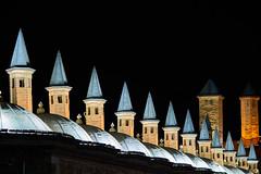 Konya, the great city (Sercan Tırnavalı) Tags: konya mevlana rumi celaleddin türkiye sercantırnavalı gece manzara night landscape town scape nightshot