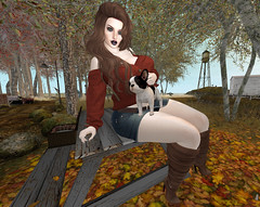 Autumn Puppy Picnic. 0275 (gwendolyn beverly) Tags: spon burberryposes alaskametro thesalemevent bellezafreya catwa catwalee notfound mila ison blueberry truth truthlela empire missingmelody