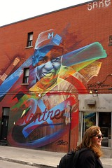 Jackie Robinson (Art By Pem Photography: Tao Of The Wandering Eye) Tags: fineartphotography canon canoneosrebelsl1 canonefs24mmf28stm canada montreal travel urban urbanart streetart mural murals scenicsnotjustlandscapes