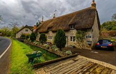 Goodfellow Cottage, Teffont (cantdoworse) Tags: teffont wiltshire evias cottage canon 6d salisbury country road spring stream england