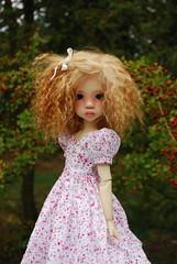 Autumn (Little little mouse) Tags: fairlaryssa kayewiggs primrosebramblethorn bjd dollfie competitionwin factoryfaceup homemadedress autumn yorkshiresculpturepark