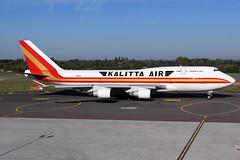 Kalitta Air  Boeing 747-4B5(BCF) N708CK (widebodies) Tags: liege lüttich lgg eblg widebody widebodies plane aircraft flughafen airport flugzeug flugzeugbilder kalitta air boeing 7474b5bcf n708ck