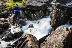 Tryfan - Wales (2324 Photography) Tags: wales snowdonia tryfan mountains startrails stars lighttrails waterfalls peaks