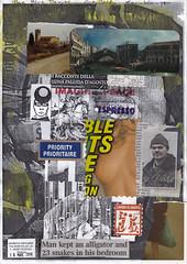 The Blue Danube (dou_ble_you) Tags: mailart morenomenarin doubleyou collageonprintedpaper a4size