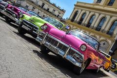 Havana (Sean Sweeney, UK) Tags: nikon dslr d750 havana cuba caribbean island vintage la habana lahabana old town oldtown car cars automobiles auto autos taxi taxis colour color colourful pink travel photography photo