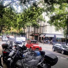 8.26.18 Rue Brochant in the Batignolles neighbourhood of Paris,  France. (Sweeetbea) Tags: ruebrochant batignolles paris france