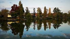 Rozsdás kristálytükör (Szombathely) (milankalman) Tags: autumn fall reflection calm nature