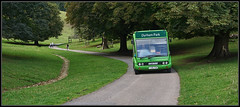Dyrham Bus (J-o-h-n---E) Tags: somerset bath dyrham dyrhampark nationaltrust park bus coach green hill road