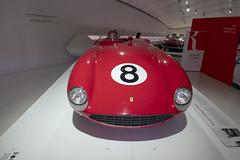ferrari 375 mm spider (cyberjani) Tags: via emilia italy modena ferrari car museum people architecture building