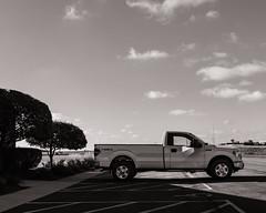 Heartland. Illinois 2018. (raymorgan4) Tags: heartland illinois pick up 4x4 blackandwhite fujifilmx100f fujifilmglobal fujifilm trucl truck sky clouds americana