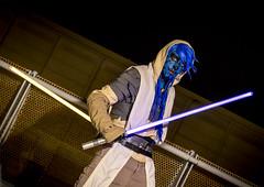 _MG_0672 (Mauro Petrolati) Tags: alessandro sith star wars romics 2018 cosplay cosplayer night notte spada laser sword