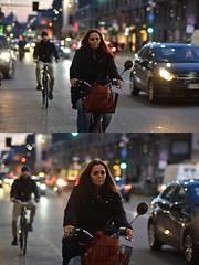 [La Mia Città][Pedala] (Urca) Tags: milano italia 2018 bicicletta pedalare ciclista ritrattostradale portrait dittico bike bicycle nikondigitale scéta 115918