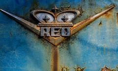 REO Emblem (jtr27) Tags: dsc8824l jtr27 sony alpha nex5n nex emount mirrorless vivitar komine 55mm f28 macro manualfocus reo old antique vintage truck maine badge emblem bickford