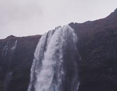 special fall (JohnKendall) Tags: dreamy dreamscape waterfall iceland seljalandsfoss purp purple haze
