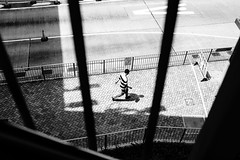The earth is a big prison (Scofield Chan) Tags: street streetsnap snapshot streetphoto explore monochrome bnw bw hongkong prison contrast art city