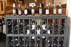 Greeted by Beer & Wine (en tee gee) Tags: beer wine rack restaurant huntington ny