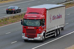 J1 CCT (Martin's Online Photography) Tags: scania g280 truck wagon lorry vehicle freight haulage commercial transport a1m northyorkshire nikon nikond7200