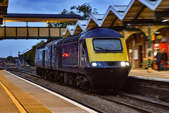 43176 + 43177 - March - 11/10/18. (TRphotography04) Tags: scotrail ex gwr blue hst powercars 43176 43177 pass march with 0l46 1728 ely mlf papworth sidings loughborough brush