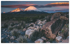 . (haulo) Tags: chile 20d lauca parinacota altiplano sunset