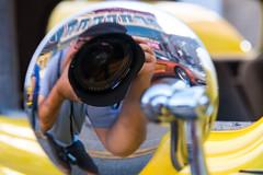 Selfie (sniggie) Tags: automobile camera classicautomobile classiccar photographer rearviewmirror selfie vintageautomobile