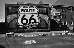 Pontiac, IL (cestlameremichel) Tags: bnw minolta dynax 40 filmisnotdead ilford super xp2 400 monochrome monochromatic analog analogue analogica argentique 35mm film route 66 oklahoma illinois missouri kansas roadtrip