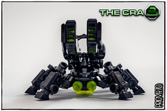Blacktron CRAB (front view) (Priovit70) Tags: lego blacktron robot crab olympuspenepl7