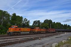 K138 Rotterdam NY (ERIE1960) Tags: railroad trains locomotive csx bnsf newyorkrailroads freighttrain