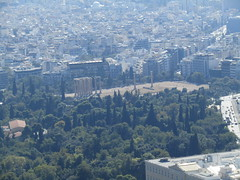 Temple of Olympian Zeus (grahampaul78) Tags: zeus temple view city structure ancient historic history greece athens