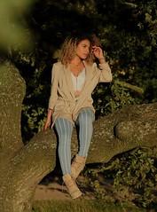 warm rays (ODISEA VISUALS) Tags: portrait model tree forrest curls fashion beautiul sunshine
