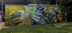 Semiahmoo Arts Mural (Tony Tomlin) Tags: whiterockbc britishcolumbia canada murals centennialpark mallorydonen richardtetrault semiahmooarts