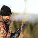 hunter in morning sun 3