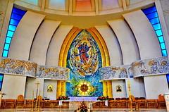 Romania, Our Lady Queen of Iași Cathedral (gerard eder) Tags: world travel reise viajes europa europe romania iasi iaşi church iglesia cathedral catedral kathedrale kirche architecture architektur arquitectura interior sacral sacralbuilding