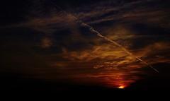 Point & Shoot (Tim @ Photovisions) Tags: sky nebraska gagecounty clouds sun sunset sunrise