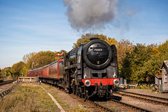 Cromwell (aljones27) Tags: 70013 gcr greatcentralrailway olivercromwell photocharter tpo timelineevents lineside special swithland autumn autumnal