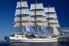 DSC_7287 (yuhansson) Tags: фрегат херсонес море чёрное парусник крым паруса парус корабли корабль путешествие путешествия югансон юрий boat sea sky water vessel ship sailing новыйсвет судак