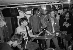 2018-10-15-0011 (fille_ennuyeuse) Tags: big zit chicago punk hardcore bands 35mm black white film ilford delta 400 delta400 analog photography normal records kevin joe eric kahler bored straight tenement tom amos coltranes animal sacrifice gas rag albion house riverwest milwaukee jj spencer